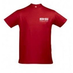 BS BATTERY 980483 T-shirt BS rouge Taille XL chez KS MOTORCYCLES