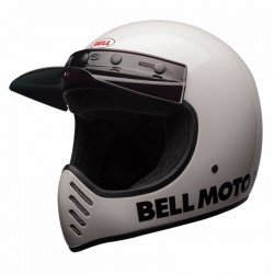 BELL 7081049 Casque BELL Moto-3 Classic White taille XL chez KS MOTORCYCLES